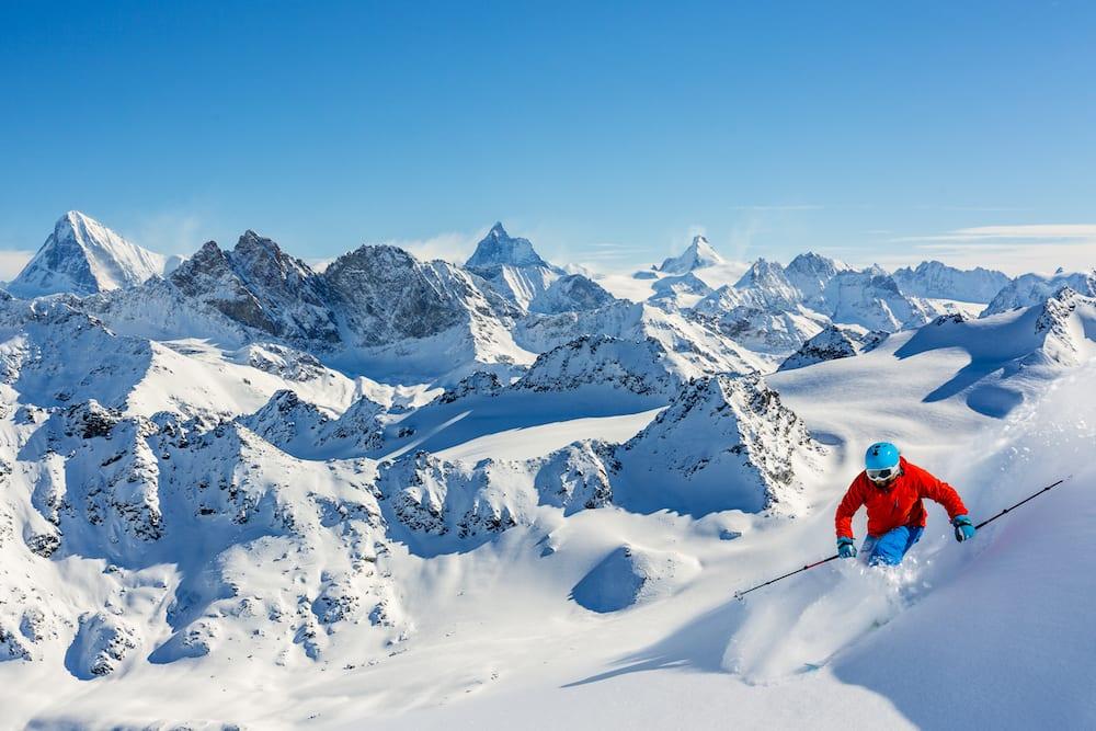 Ski trip in Alps