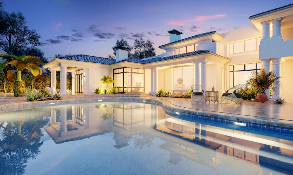 Luxury villa and home rental with large private pool