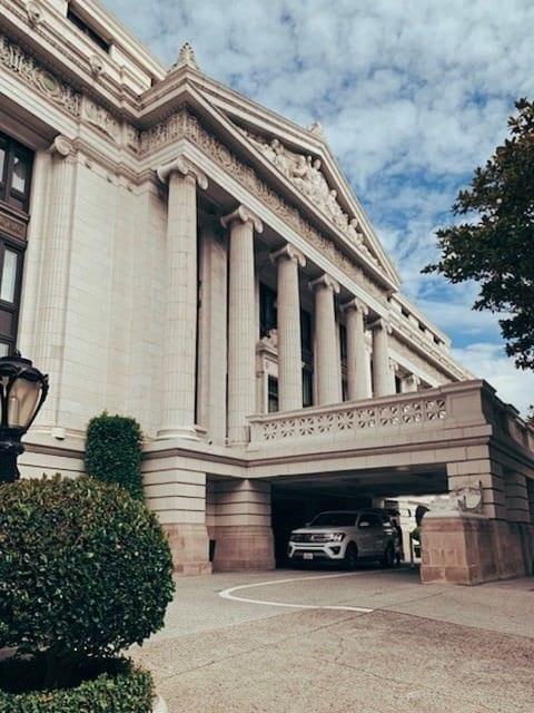 Exterior of the historic Ritz-Carlton San Francisco