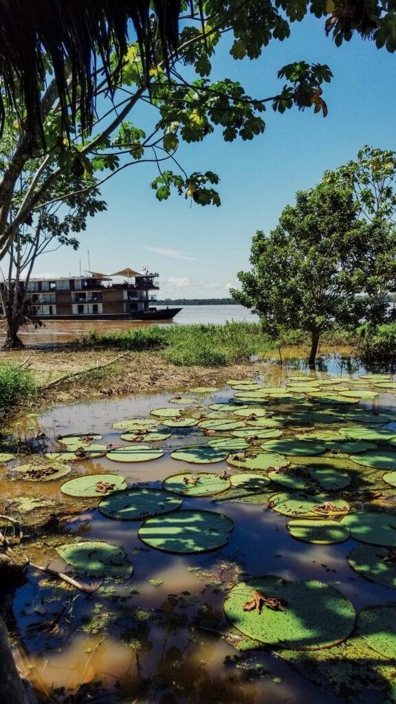 Zafiro Amazon River Cruise Ship