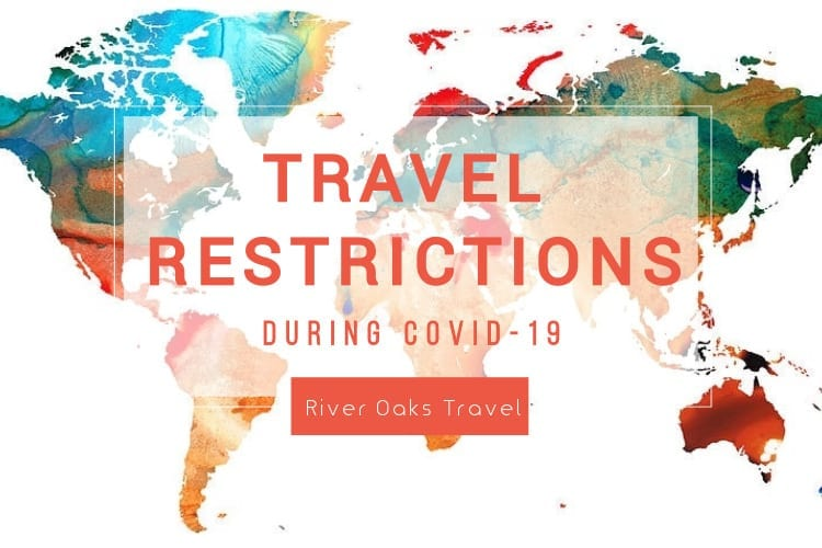 Worldwide travel restrictions by country during coronavirus covid-19
