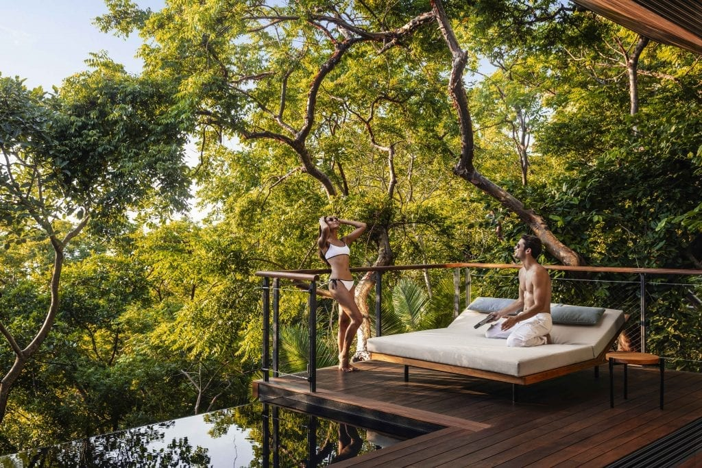 Treehouse villas at the One&Only Mandarina, the newest luxury resort in Riviera Nayarit