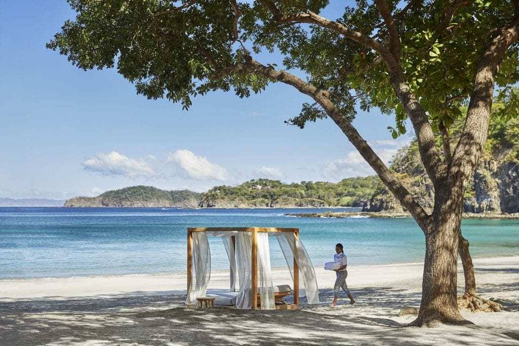 Beach in Costa Rica at the Four Seasons Papagayo