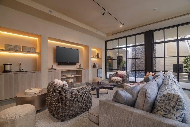 Casa Tesoro TV Room