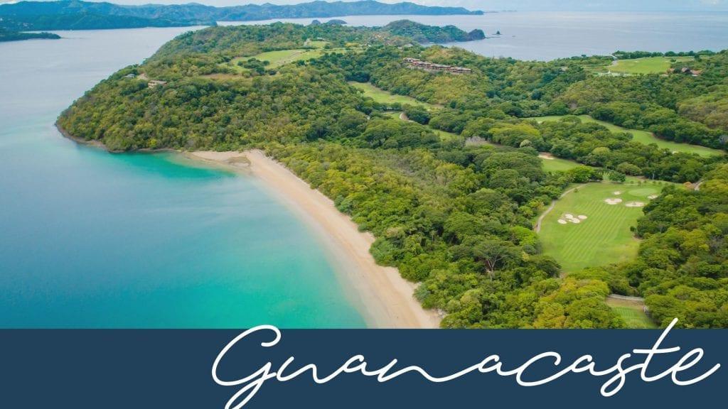 Guanacaste and Papagayo region in Costa Rica