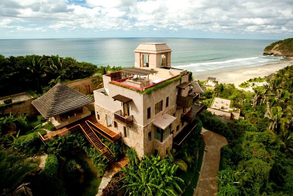 View of villas at Imanta resort in Riviera Nayarit
