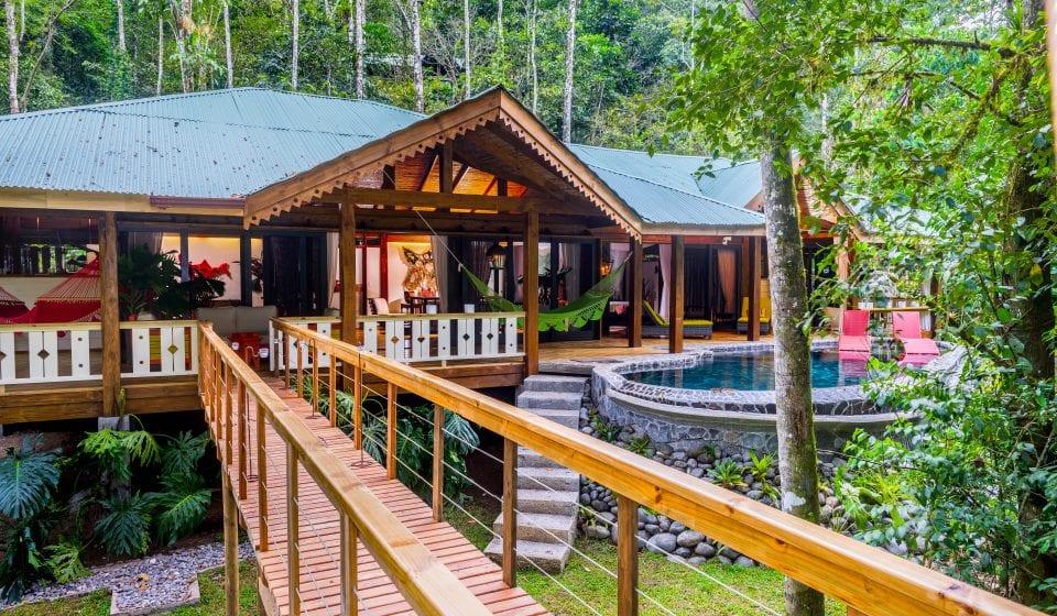 Romantic Jaguar Villa at Pacuare Lodge in Costa Rica