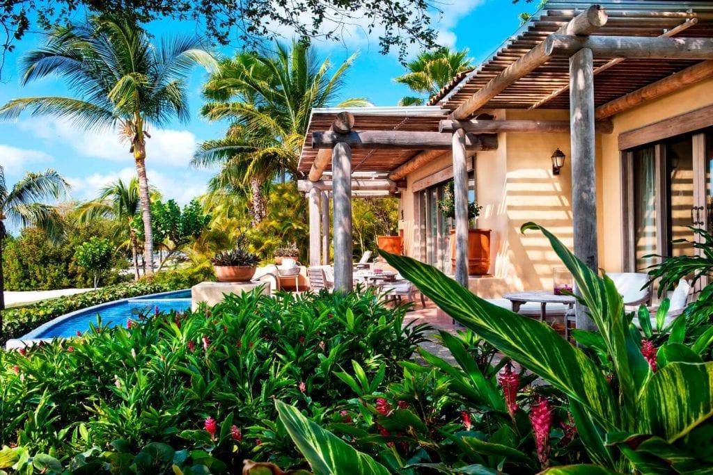 Villa with private plunge pool at the St. Regis Punta Mita in Riviera Nayarit